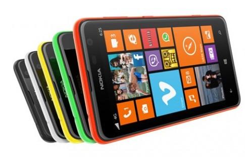Điện thoại Nokia Lumia màn hình rộng nhất có giá hơn 6 triệu đồng