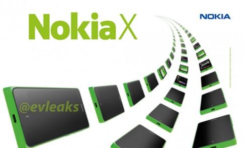 Điện thoại Nokia X chạy Android tiếp tục lộ ảnh