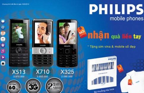 Điện thoại Philips chào Euro