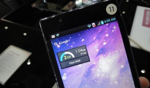 Điện thoại RAM 2GB của LG bán trong tuần này