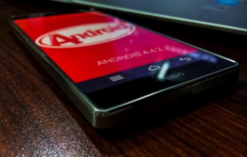Điện thoại Sky A870 được nâng cấp lên Kitkat
