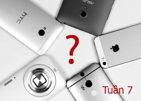 Điện thoại Sony, Asus và Huawei giấu mặt đọ camera