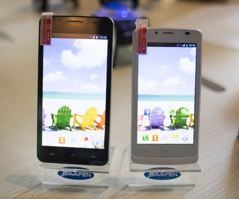 Điện thoại thương hiệu Việt, màn hình lớn, giá 2 triệu đồng
