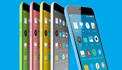 Điện thoại Trung Quốc giống iPhone 5C bán được 100.000 máy trong 1 phút