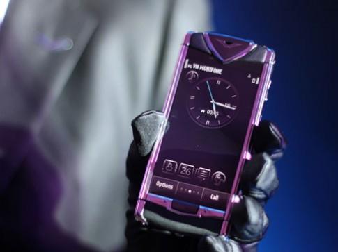 Điện thoại Vertu cảm ứng giá từ 135 triệu