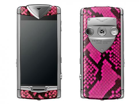 Điện thoại Vertu thời trang cho phái đẹp