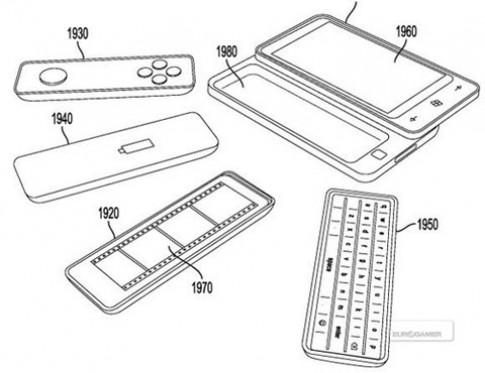 Điện thoại Windows Phone mới có thể tháo lắp bàn phím QWERTY