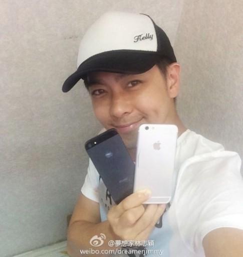 Diễn viên Lâm Chí Dĩnh khoe đã dùng iPhone 6