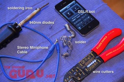 Điều khiển máy DSLR bằng iPhone