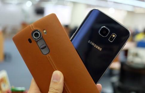 Đọ camera giấu mặt: LG G4 'đấu' Samsung Galaxy S6 edge