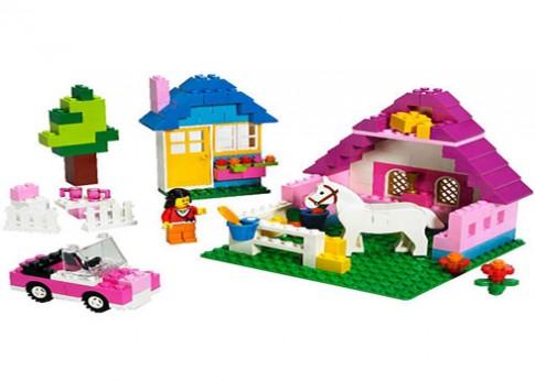 Đồ chơi xếp hình ngôi nhà
