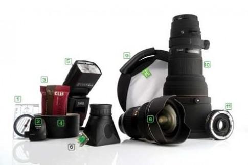 'Đồ nghề' của nhiếp ảnh gia chụp thiên nhiên