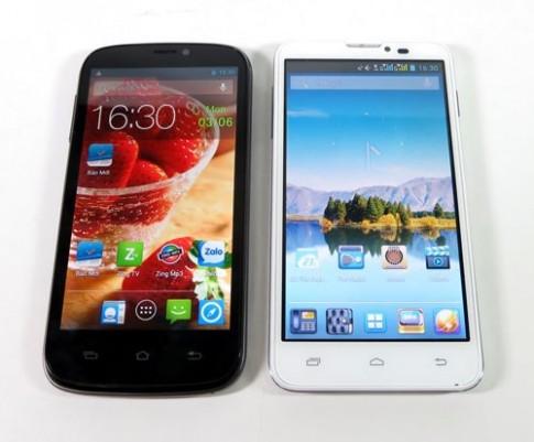 Đọ sức smarphone 4 nhân Mobell S98 và Mobiistar touch LAI 504