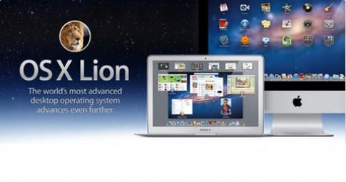 Doanh số máy tính Mac tăng nhờ OS X Lion