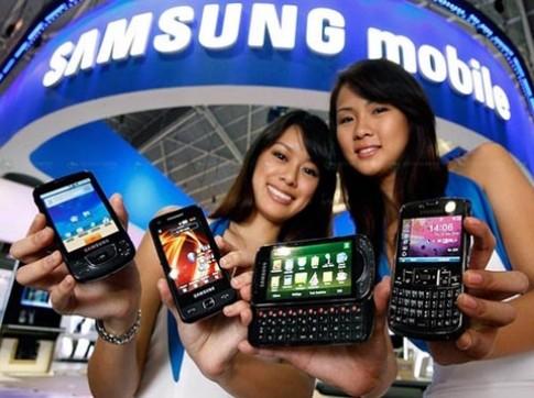 Doanh số smartphone của Samsung vượt Apple