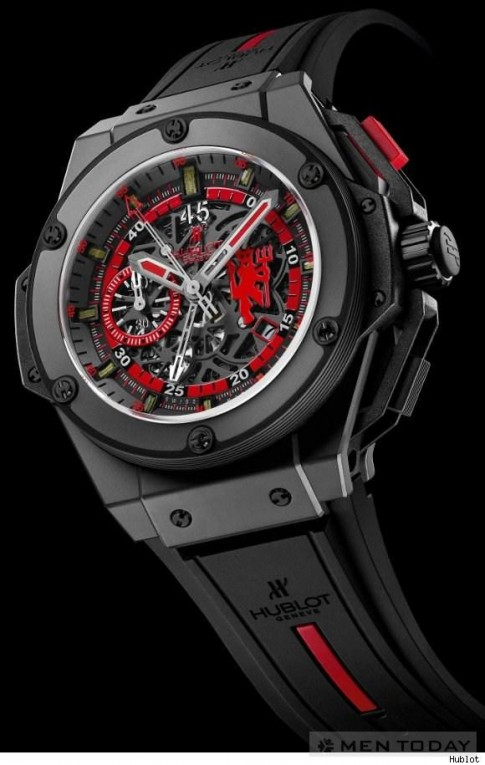 Đồng hồ cho fan của MU – Hublot King Power
