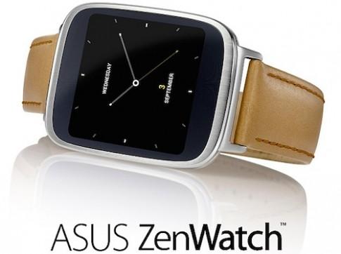 Đồng hồ ZenWatch và máy tính bảng mới của Asus tại IFA