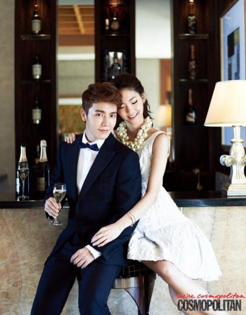 Donghae lịch lãm trên tạp chí Cosmopolitan