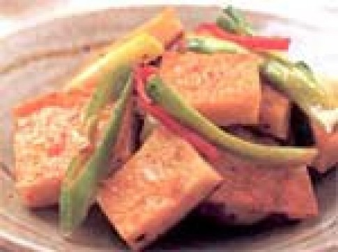 Dừa kho cà chua