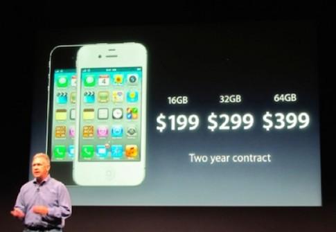 Dung lượng thấp nhất của iPhone là bao nhiêu?