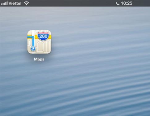 Dùng thử bản đồ iOS 6 tại Việt Nam