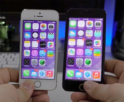 Dùng thử iOS 7 trên iPhone 6 màn hình 4,7 inch