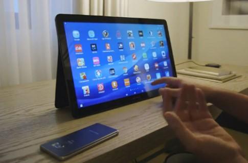Dùng thử máy tính bảng khổng lồ Samsung Galaxy Tab View