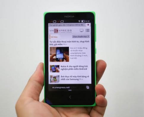 Dùng thử Nokia X - Android phone giá rẻ đầu tiên của Nokia