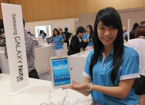 Dùng thử SamsungGalaxy Note 8.0