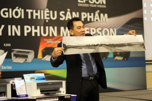 Epson trình làng máy in đơn sắc tại Việt Nam