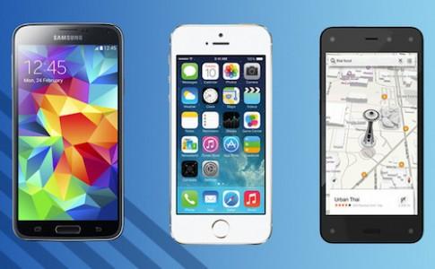 Fire Phone đọ cấu hình LG G3, Galaxy S5, iPhone 5S