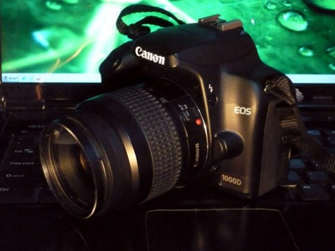 Firmware mới cho Canon EOS 1000D