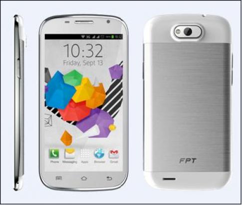 FPT F80 – smartphone màn hình lớn 5 inch thiết kế thời trang
