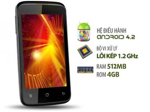 FPT giới thiệu smartphone lõi kép 1,2 GHz giá hấp dẫn