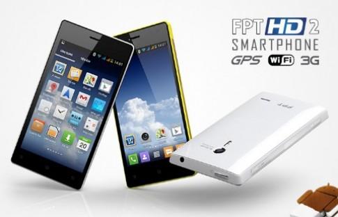 FPT HD II - smartphone Việt mạnh mẽ và thanh lịch