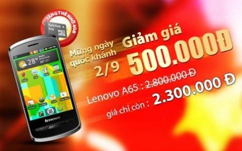 FPT khuyến mãi smartphone Lenovo A65