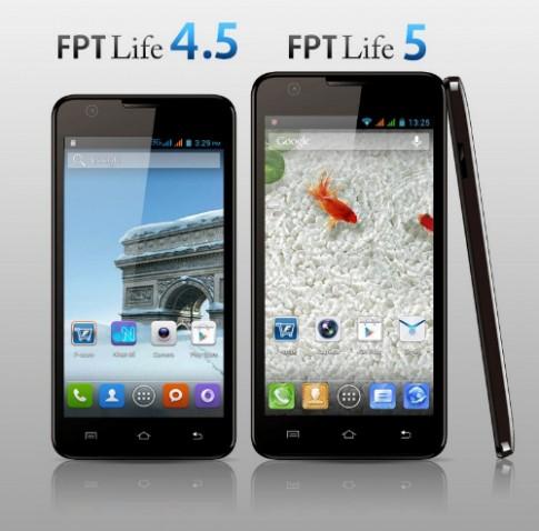 FPT ra mắt bộ đôi smartphone dòng Life