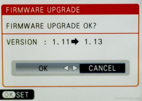 Fujifilm nâng cấp firmware cho X10 và X100