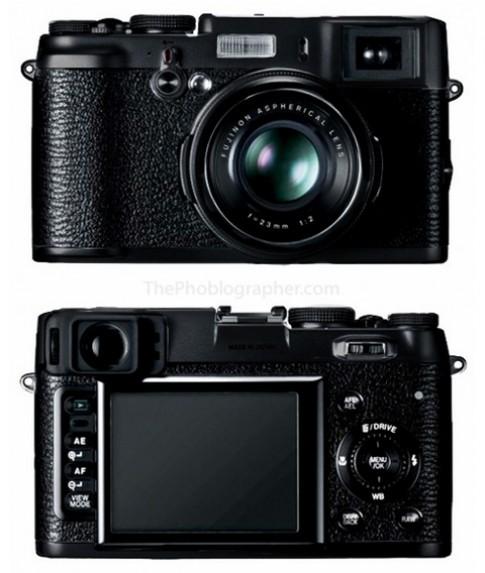 Fujifilm sắp tung ra X100 màu đen
