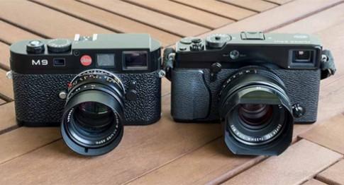 Fujifilm X-Pro1 đọ ảnh nhanh với Leica M9