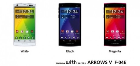 Fujitsu ra điện thoại Android siêu bền với bảo mật vân tay