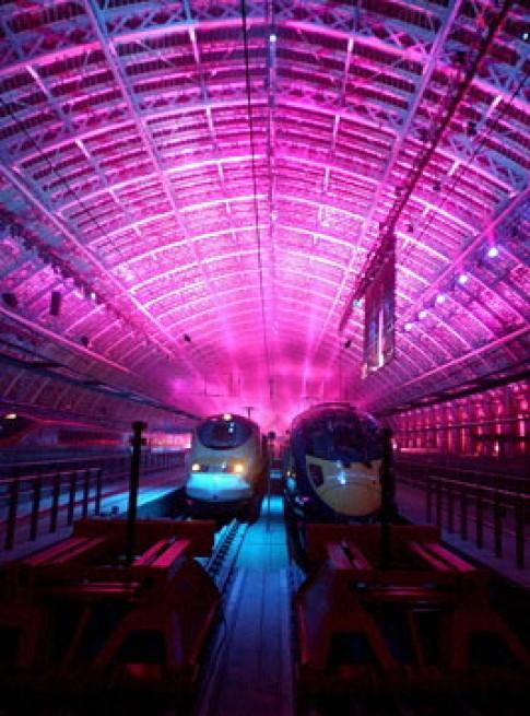 Ga đường sắt mới ở London