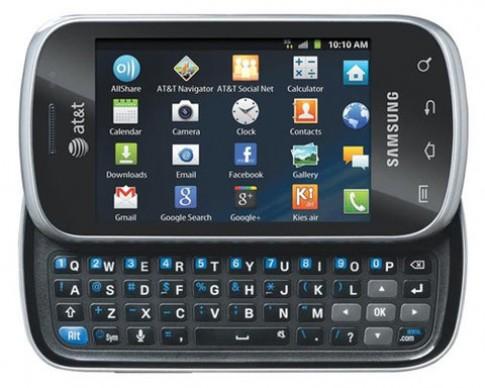 Galaxy Appeal bàn phím trượt ra mắt ở Mỹ