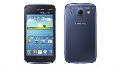 Galaxy Core 2 SIM phong cách giống Galaxy S III