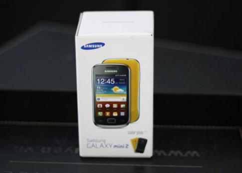 Galaxy Mini 2 về VN với giá 4,8 triệu