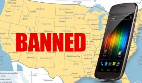 Galaxy Nexus bị cấm bán tại Mỹ