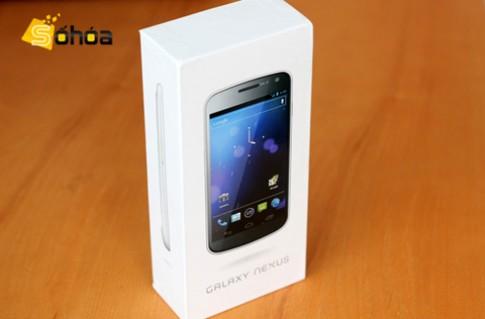 Galaxy Nexus trắng đầu tiên về VN