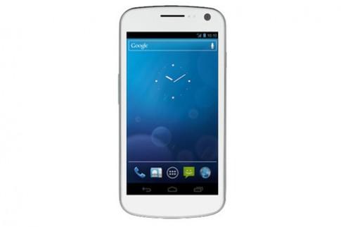 Galaxy Nexus trắng trình làng tháng sau