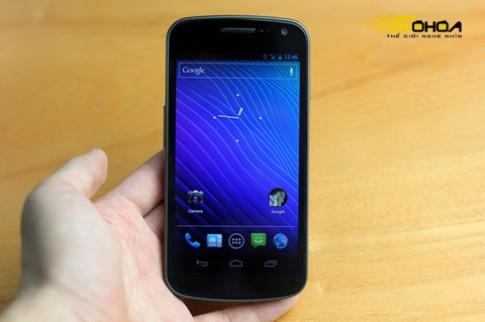 Galaxy Nexus với thách thức thử pin