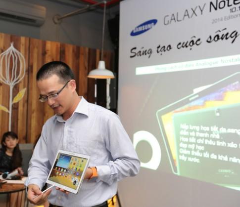 Galaxy Note 10.1 chạy đa nhiệm như máy tính Windows